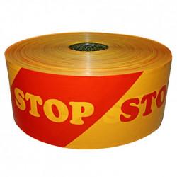 Polietileno juosta ''STOP''...